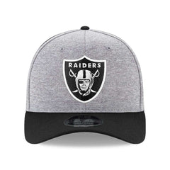 Oakland Raiders New Era NFL Double Shadow Pre-Curved 9FIFTY Snapback Hat