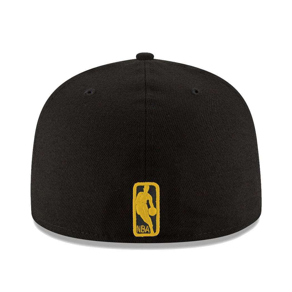 0159160a7d8c4e Los Angeles Lakers New Era NBA Team Pop 59FIFTY Fitted Hat - Black ...