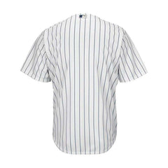 Youths New York Yankees Majestic MLB Cool Base Replica Jersey - White