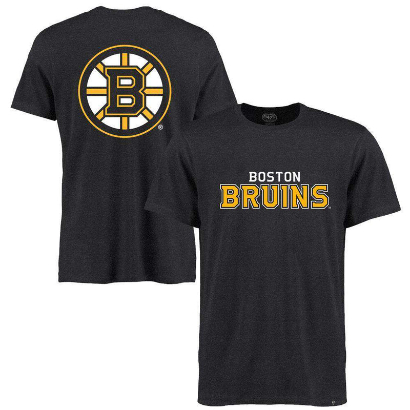 Boston Bruins '47 NHL MVP Club T-Shirt - Charcoal Marle