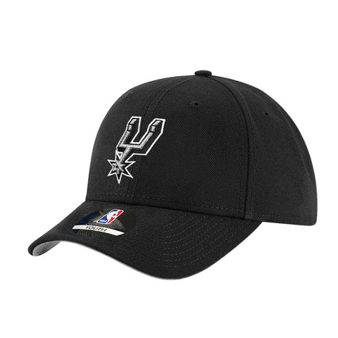 Youths San Antonio Spurs Outerstuff NBA Team Curve Hat - Black
