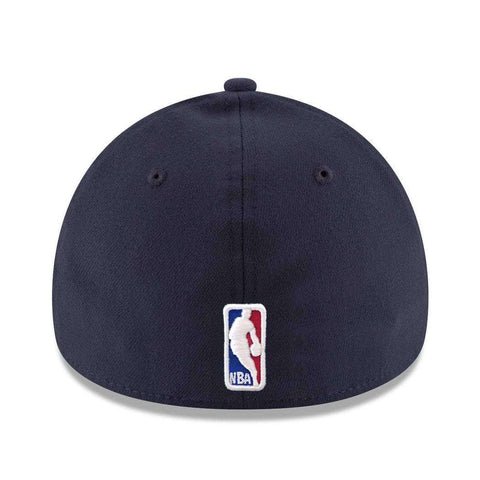 Oklahoma City Thunder New Era NBA Wordmark 39THIRTY Curve Hat - Navy