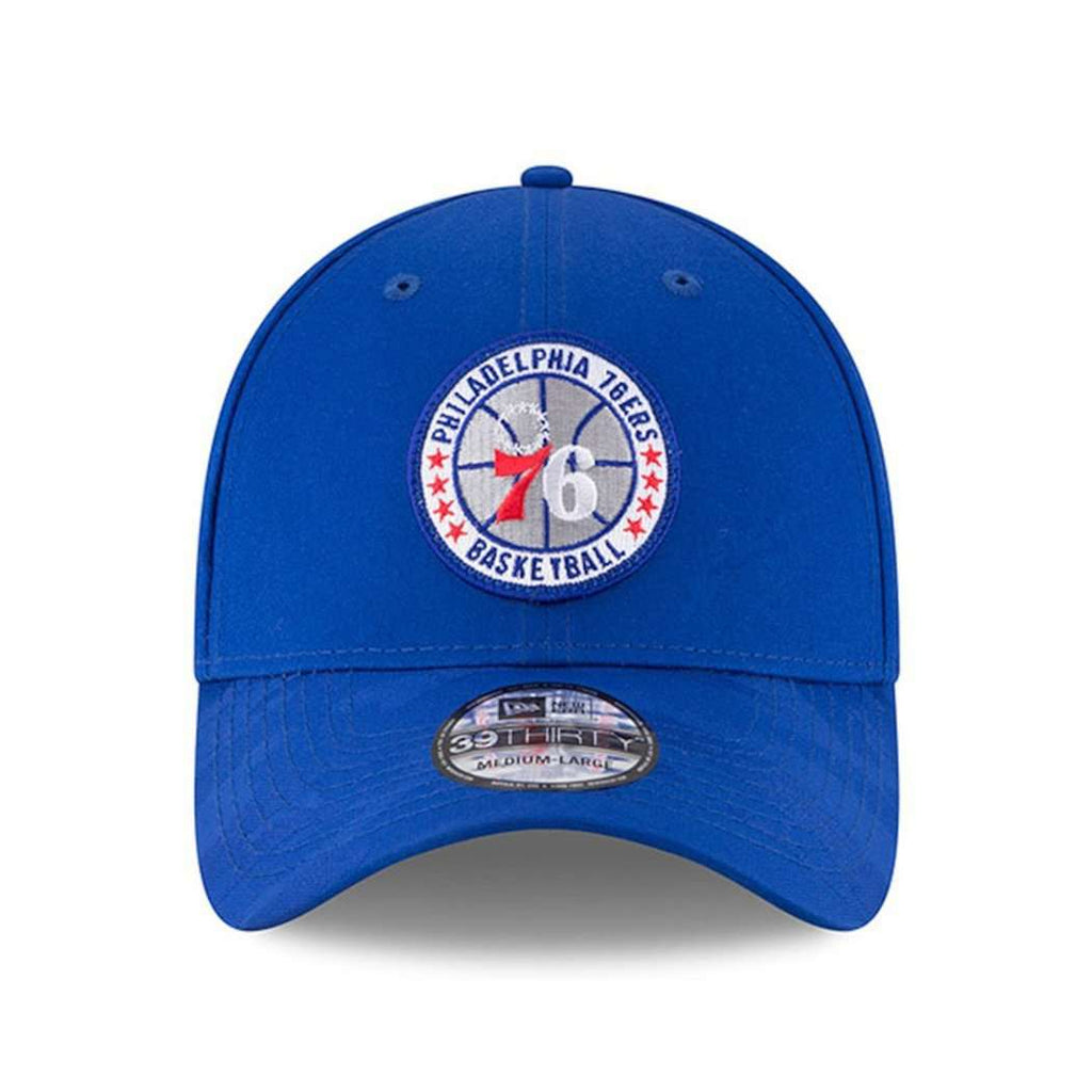 78ace1b1d7f Philadelphia 76ers New Era NBA 2018 Tip-Off 39THIRTY Stretch-Fit Hat - Blue