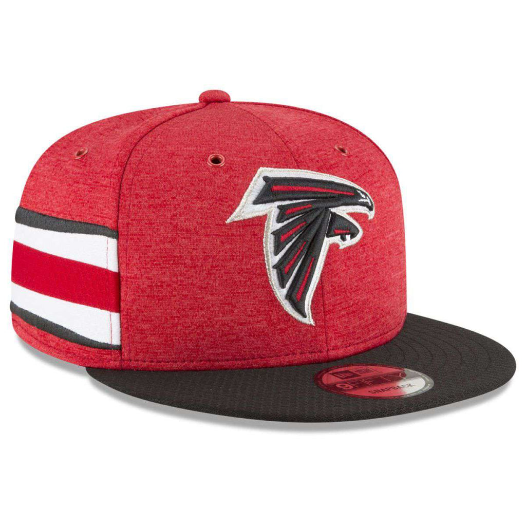 d343c5892 Atlanta Falcons New Era NFL 2018 Sideline 9FIFTY Snapback Hat - Red ...