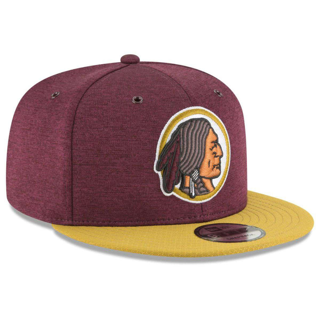 6907dc6417f07 Washington Redskins New Era NFL 2018 Sideline CC 9FIFTY Snapback Hat -  Burgundy