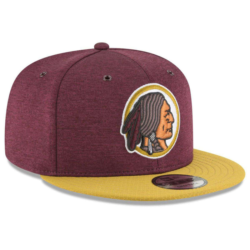 Washington Redskins New Era NFL 2018 Sideline CC 9FIFTY Snapback Hat - Burgundy