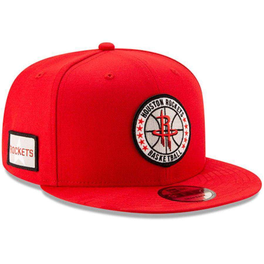 promo code d0568 70141 Houston Rockets New Era NBA 2018 Tip-Off 9FIFTY Snapback Hat - Red
