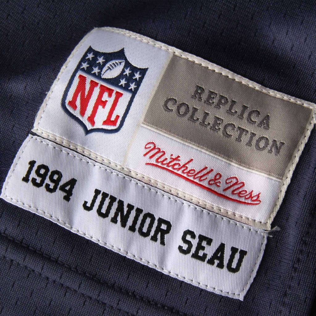 on sale e926f 1c790 Junior Seau San Diego Chargers Mitchell & Ness NFL Legacy Jersey - Navy