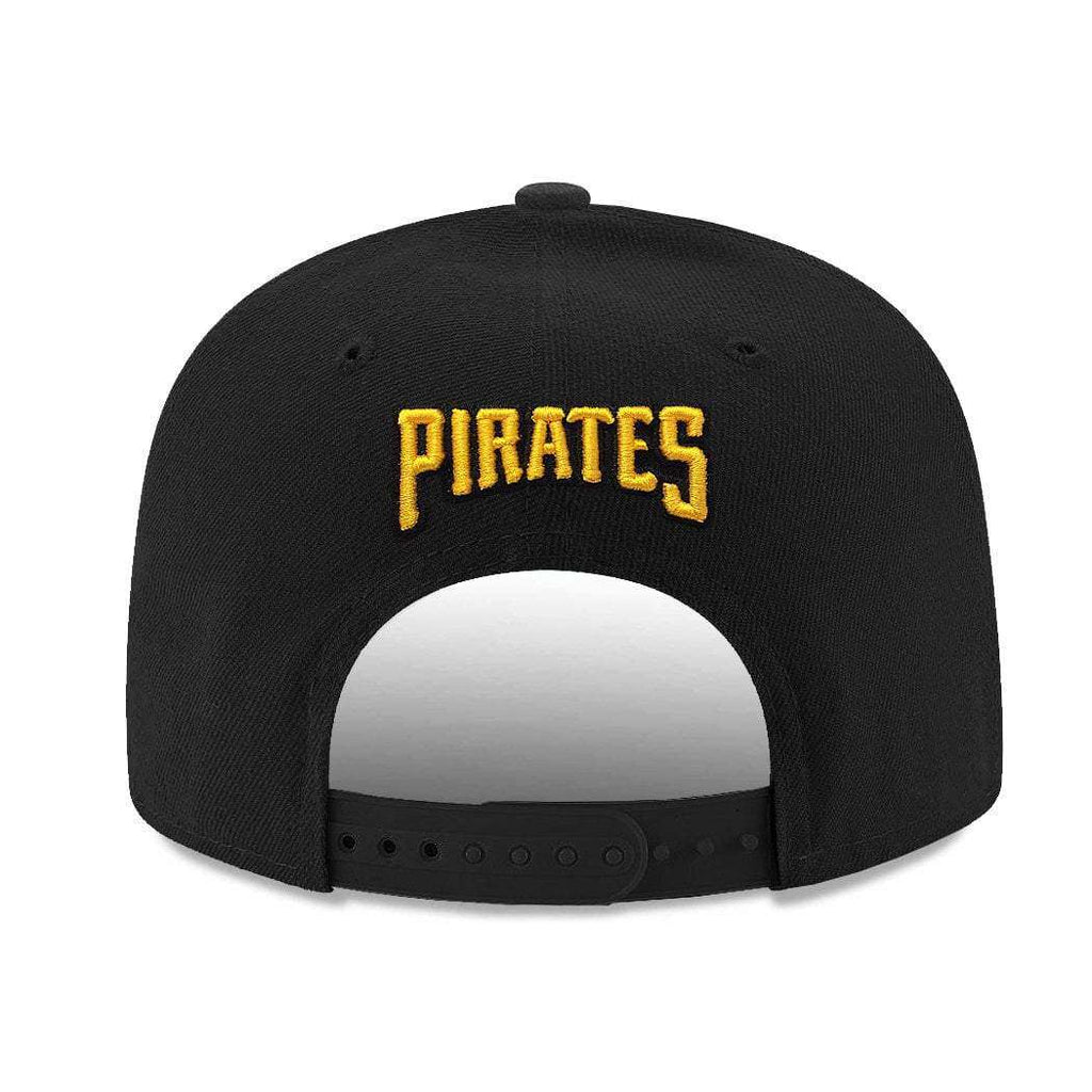 brand new c6e19 484f0 Pittsburgh Pirates New Era MLB Team 9FIFTY Snapback Hat - Black