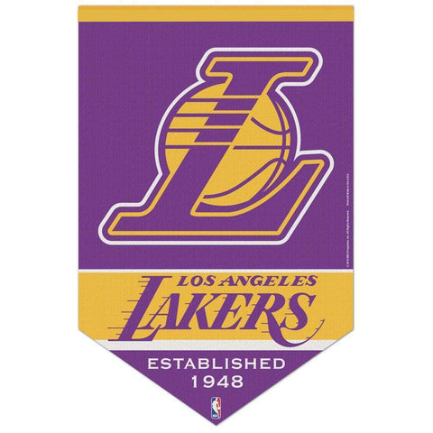 "Los Angeles Lakers Wincraft NBA 17"" X 26"" Premium Felt Banner"