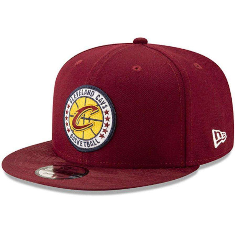 Cleveland Cavaliers New Era NBA 2018 Tip-Off 9FIFTY Snapback Hat - Wine