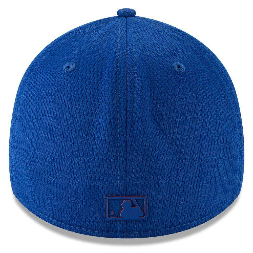 official photos b8090 6c873 New York Mets New Era MLB 2019 Clubhouse 39THIRTY Stretch-Fit Hat - Blue
