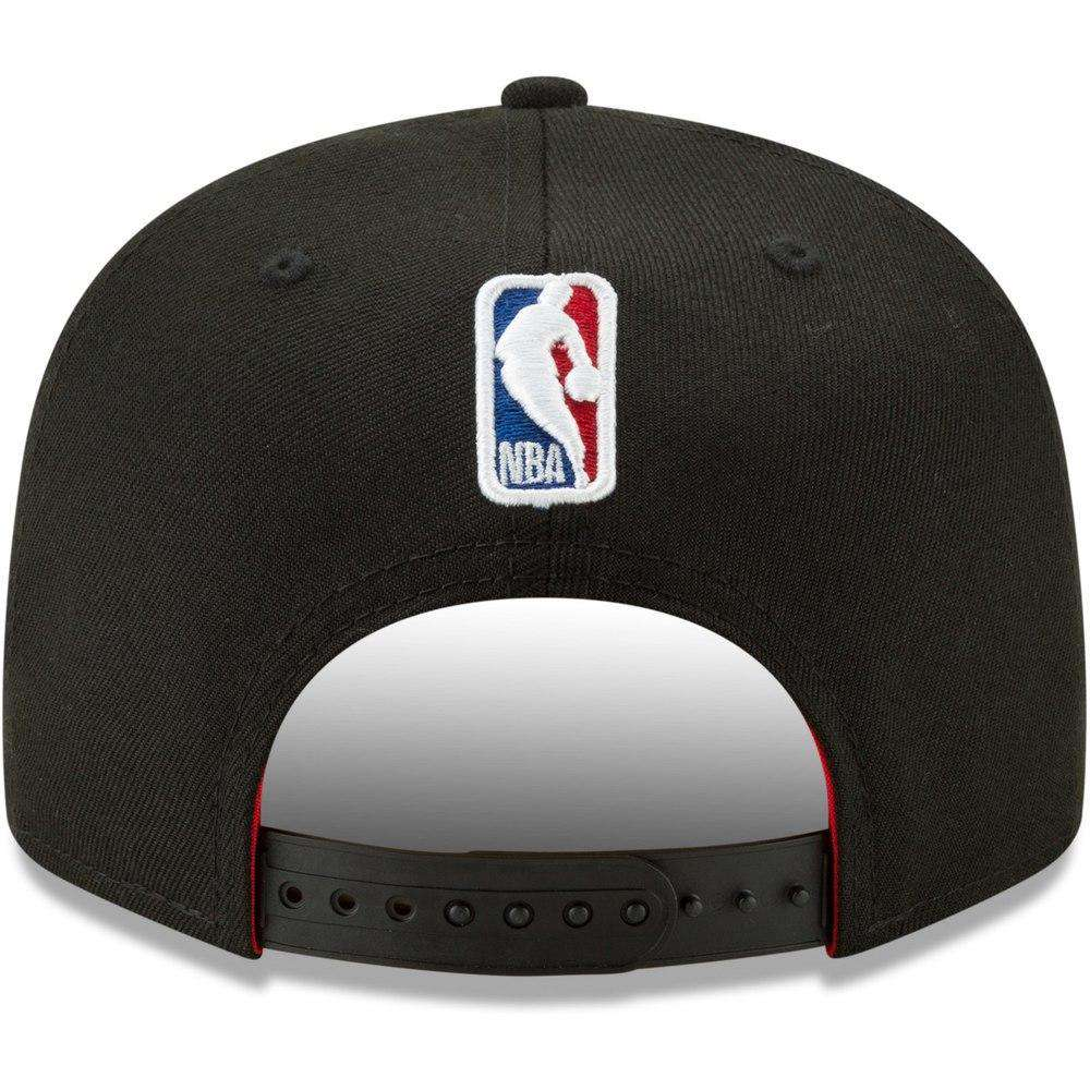 outlet store fdf60 41f28 Chicago Bulls New Era NBA 2019 Back Half 9FIFTY Snapback Hat – Black