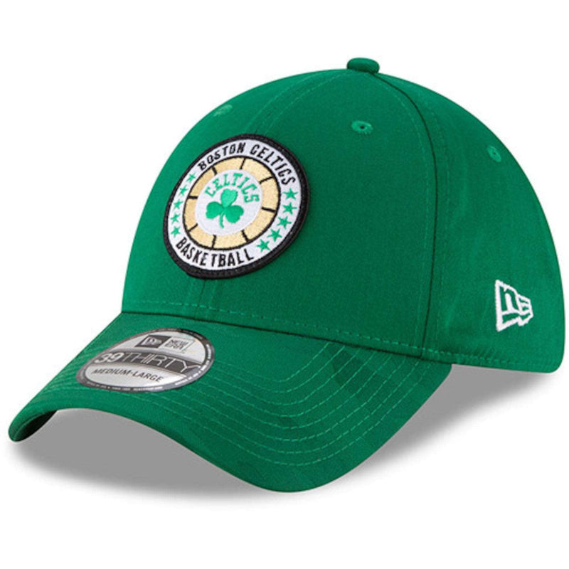 Boston Celtics New Era NBA 2018 Tip-Off 39THIRTY Stretch-Fit Hat - Green