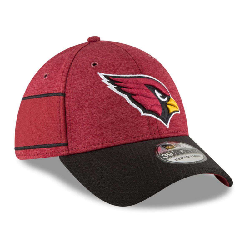 Arizona Cardinals New Era NFL 2018 Sideline 39THIRTY Stretch-Fit Curved Hat - Cardinal