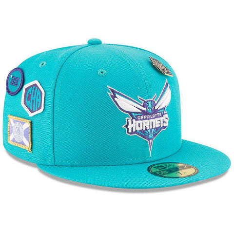 Charlotte Hornets New Era NBA 2018 NBA Draft 9FIFTY Snapback Hat - Teal