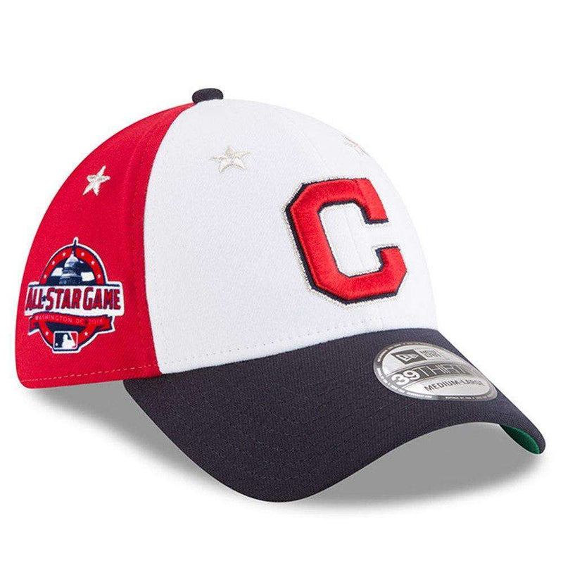 Cleveland Indians New Era 2018 MLB All Star 39THIRTY Curved Hat