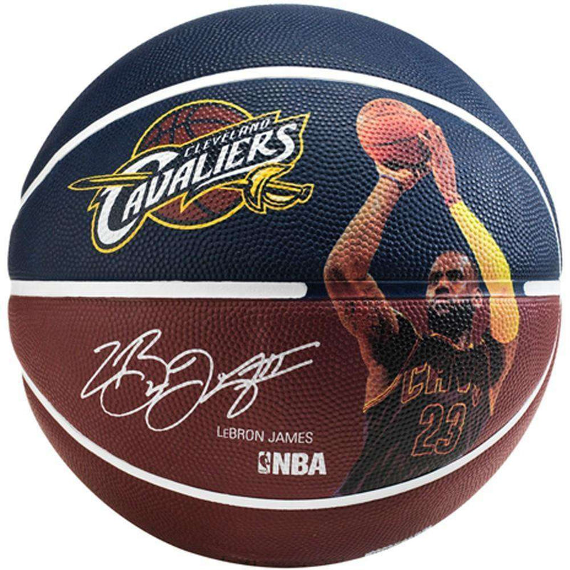 Lebron James Cleveland Cavaliers Spalding NBA Full Size Player Basketball