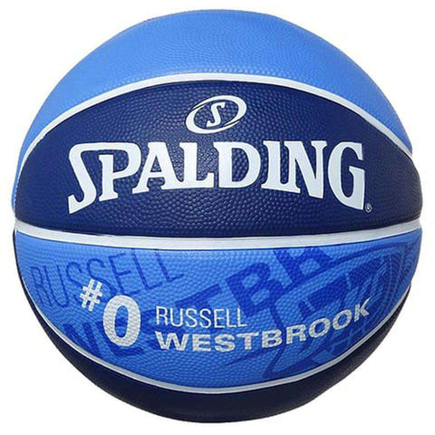 Russell Westbrook Oklahoma City Thunder Spalding NBA Full Size Player Basketball