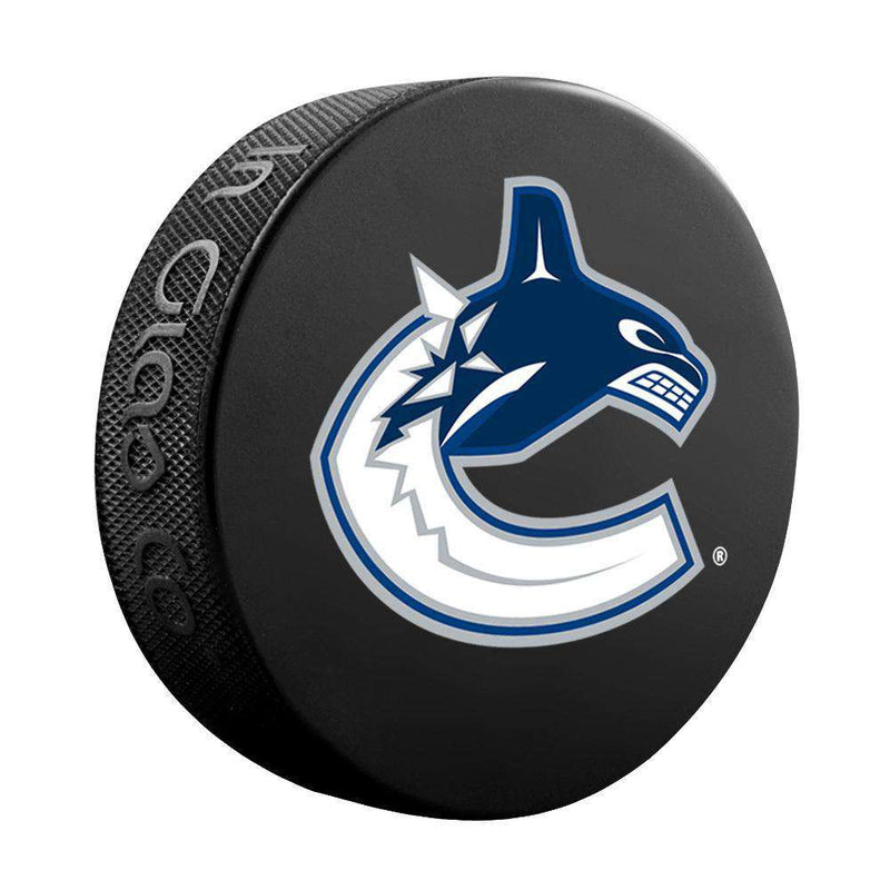 Vancouver Canucks Sher-Wood NHL Souvenir Hockey Puck