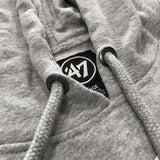 Los Angeles Lakers '47 NBA Imprint Headline Hoodie Jumper - Grey
