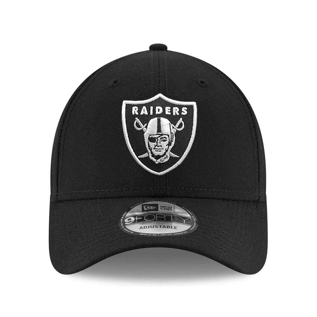 a2fd4fae4a9 Oakland Raiders New Era NFL Team 9FORTY Curve Hat - Black