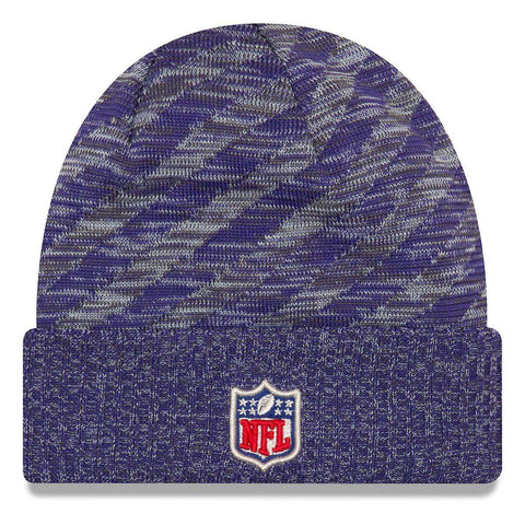 Minnesota Vikings New Era NFL 2018 NFL Sideline TD Knit Beanie - Purple