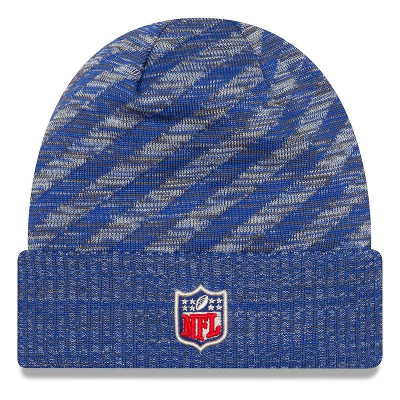 Buffalo Bills New Era NFL 2018 NFL Sideline TD Knit Beanie - Blue