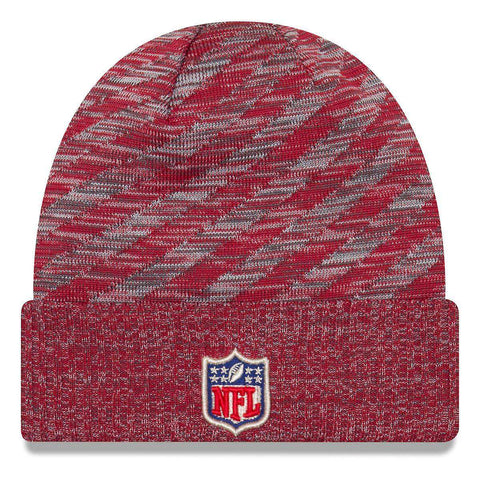 Arizona Cardinals New Era NFL 2018 NFL Sideline TD Knit Beanie - Cardinal