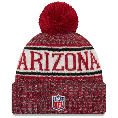 Arizona Cardinals New Era NFL 2018 NFL Sideline Knit Beanie - Cardinal