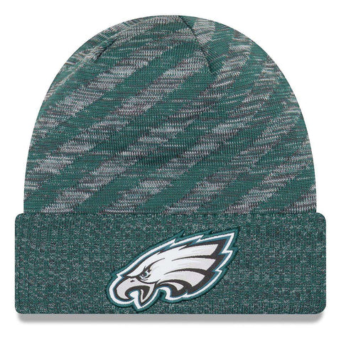 Philadelphia Eagles New Era NFL 2018 NFL Sideline TD Knit Beanie - Green