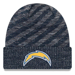 Los Angeles Chargers New Era NFL 2018 NFL Sideline TD Knit Beanie - Navy