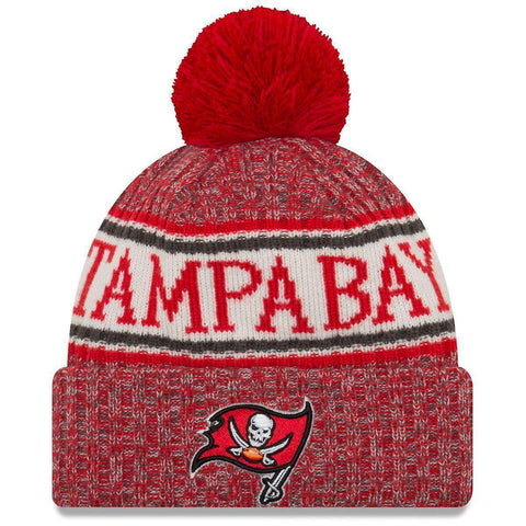 Tampa Bay Buccaneers New Era NFL 2018 NFL Sideline Knit Beanie - Red