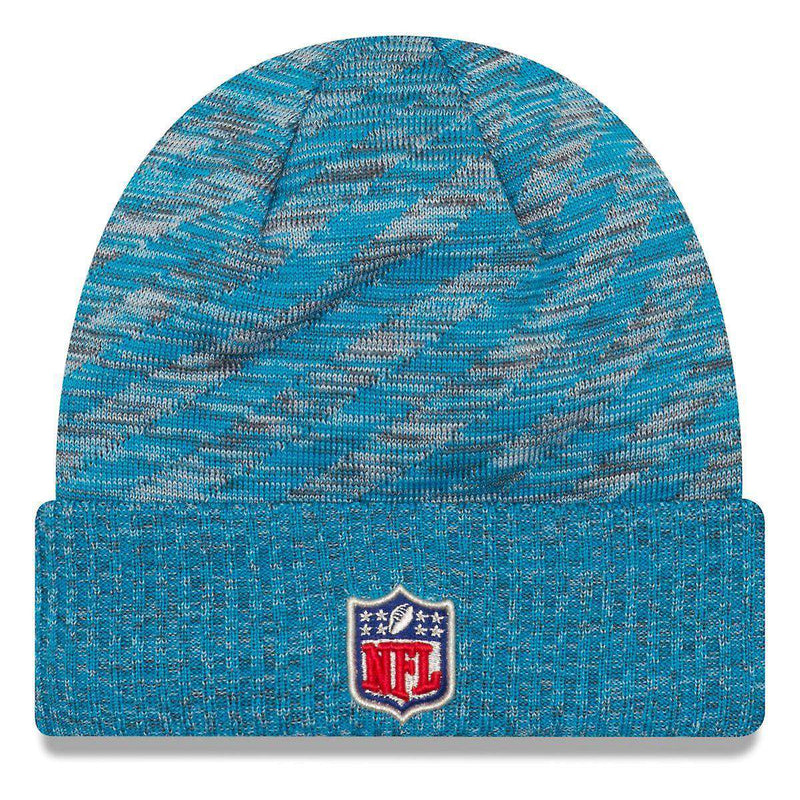 Carolina Panthers New Era NFL 2018 NFL Sideline TD Knit Beanie - Blue