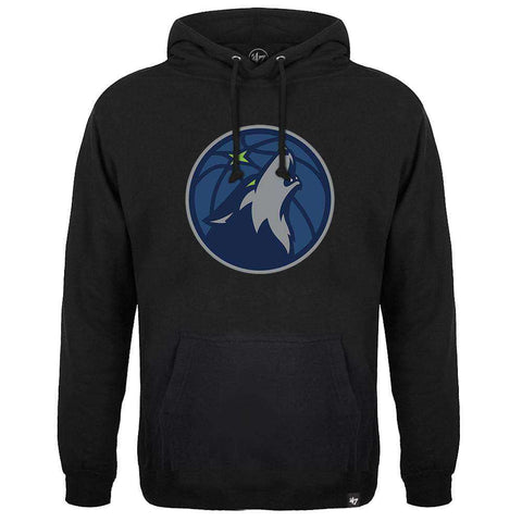 Minnesota Timberwolves '47 NBA Team Headline Hoodie Jumper - Black
