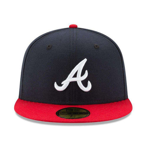 Atlanta Braves New Era MLB AC On-Field 59FIFTY Fitted Hat - Navy