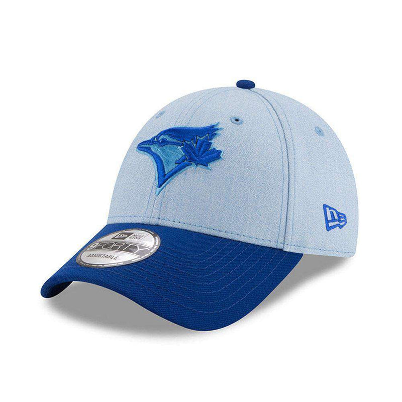 Toronto Blue Jays New Era MLB 2018 Fathers Day 9FORTY Curved Hat - Blue