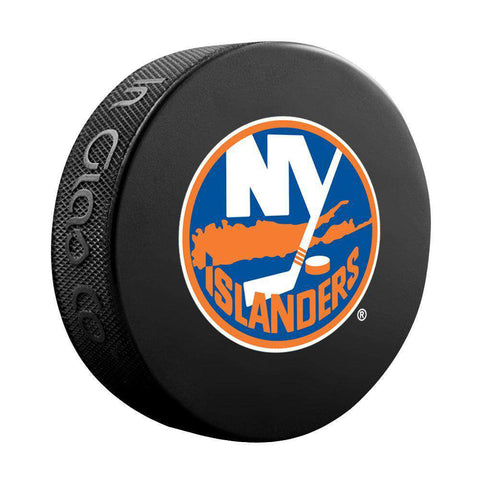 New York Islanders Sher-Wood NHL Souvenir Hockey Puck