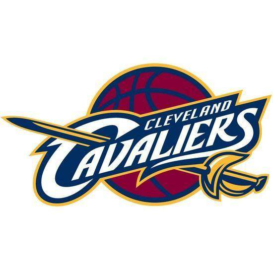 Cleveland Cavaliers Spalding 22cm NBA Team Logo Decal Sticker