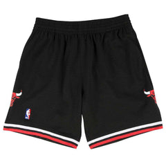 Chicago Bulls Mitchell & Ness NBA 1997-98 Swingman Shorts - Black
