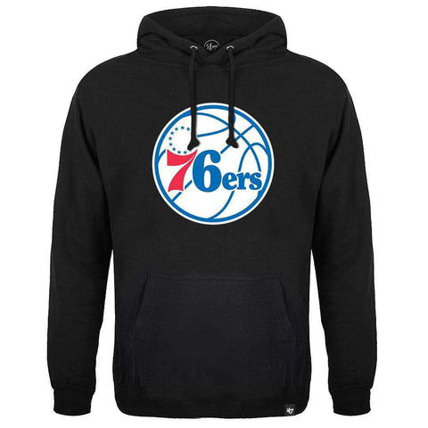Philadelphia 76ers '47 NBA Team Headline Hoodie Jumper - Black