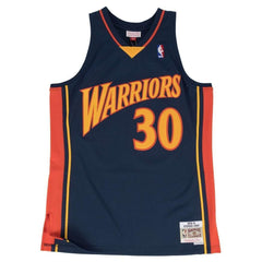 Steph Curry Golden State Warriors Mitchell & Ness NBA Swingman Jersey - Navy
