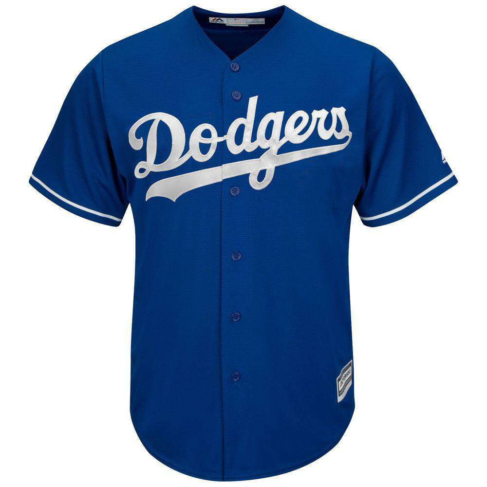 e959f68b2 Los Angeles Dodgers Majestic MLB AC Cool Base Replica Jersey - Blue ...