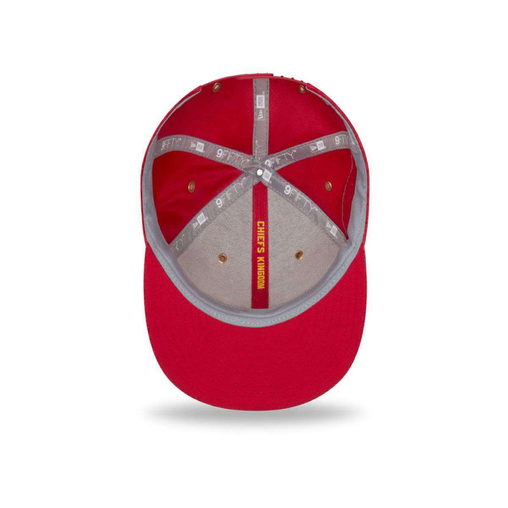 e9739d9f5 ... discount code for kansas city chiefs new era nfl 2018 sideline 9fifty  snapback hat red 81b4d