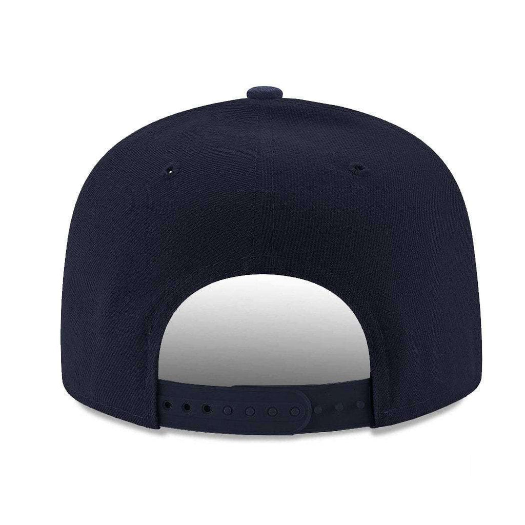 1e2a60c834d70e Cleveland Indians New Era MLB Team Pre-Curved 9FIFTY Snapback Hat - Navy