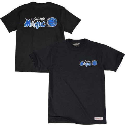 Orlando Magic Mitchell & Ness NBA Triple Double HWC T-Shirt - Black