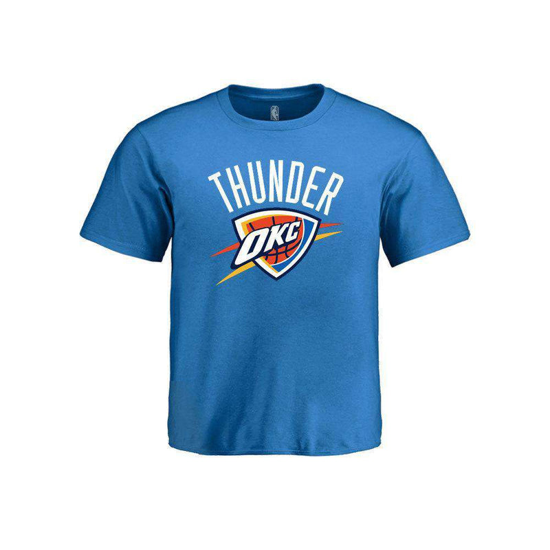 Kids Oklahoma City Thunder OKC Outerstuff NBA Logo T-Shirt - Blue