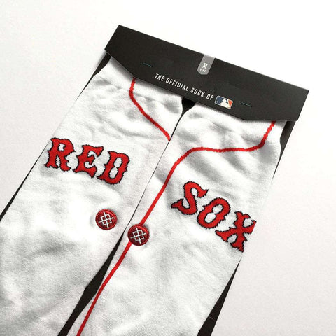 Boston Red Sox Stance MLB Home Jersey Crew Socks -White