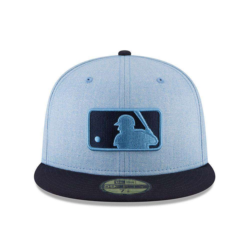 ... netherlands 2018 fathers day mlb logo new era ac on field 59fifty  fitted hat blue 0ee90 c19fd255391
