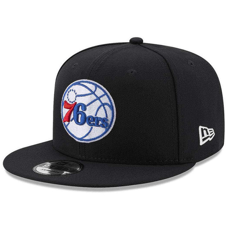 Philadelphia 76ers New Era NBA Team 9FIFTY Snapback Hat - Black